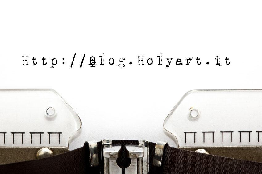 Benvenuti nel Blog di Holyart!