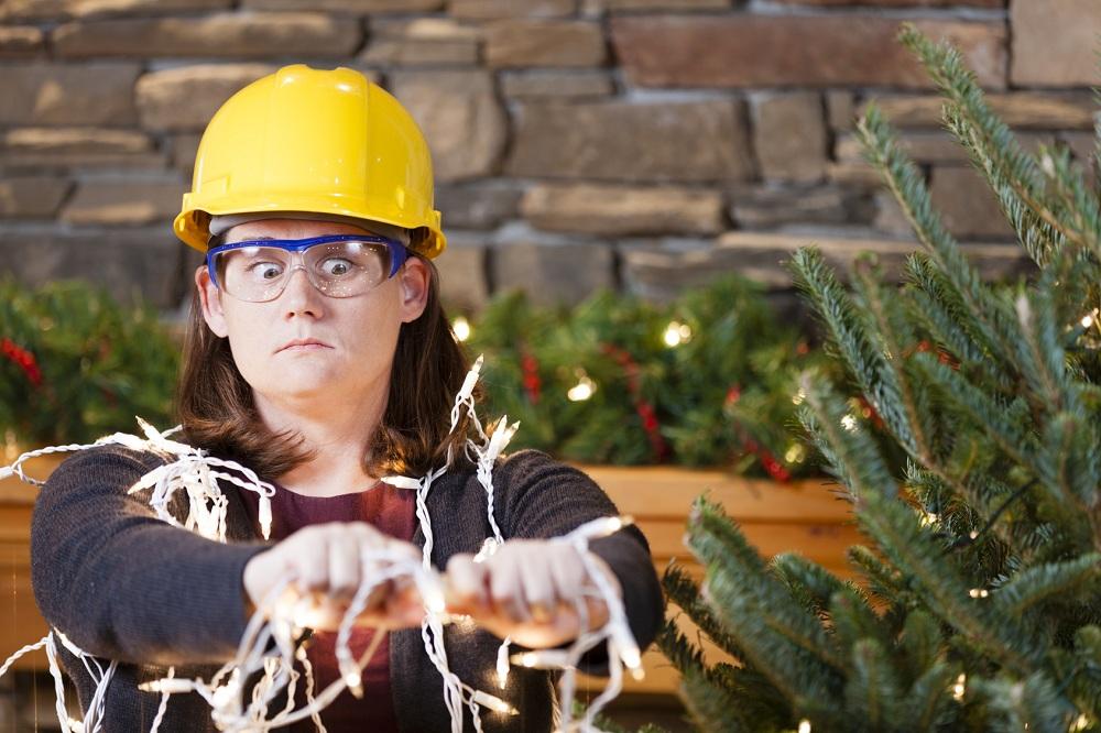Addobbare casa per Natale in piena sicurezza