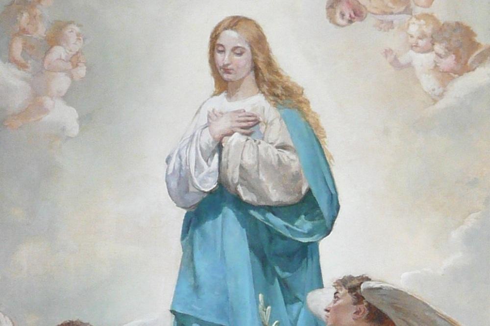 L'immacolata concezione della Vergine Maria
