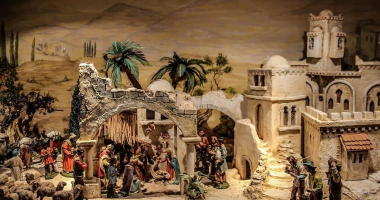 Il presepe arabo palestinese: una ricostruzione realistica della natività