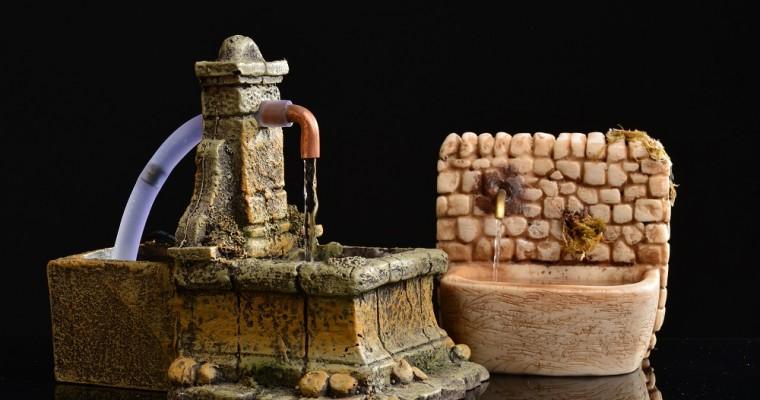 La pompa d'acqua per presepe: come sceglierla e come utilizzarla