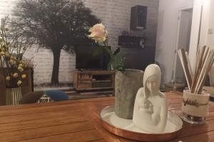 statua madonna in casa