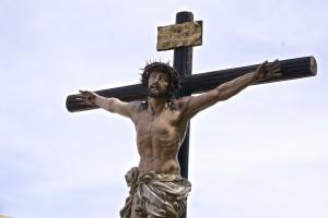 gesù in croce