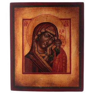 Icone Vergine di Kazan