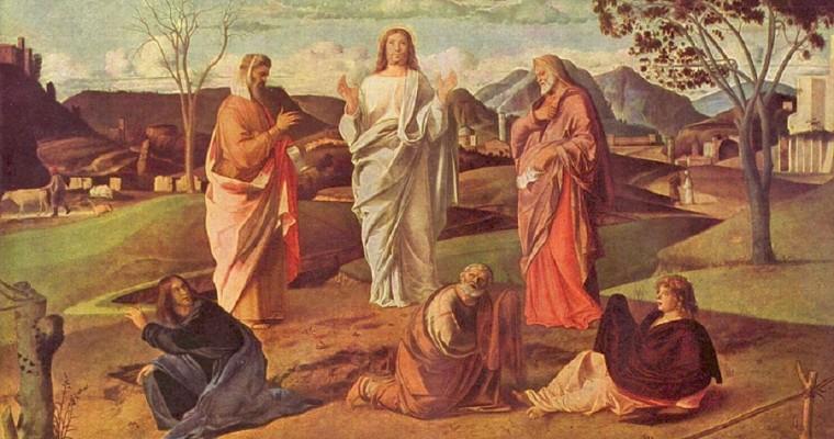La trasfigurazione di Gesù Cristo