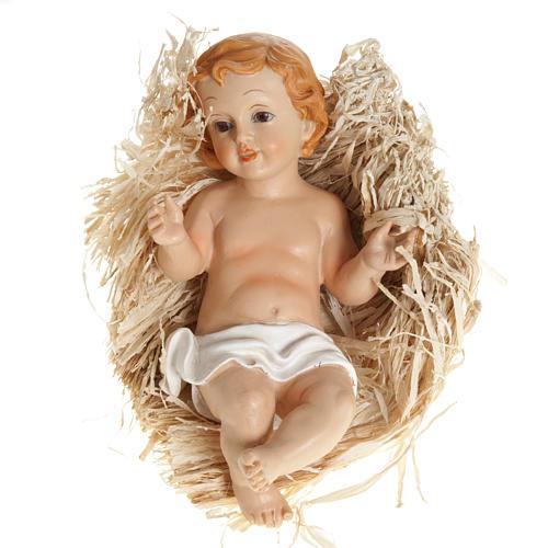 statue gesù bambino e culla